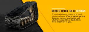 Rubber Tread Tracks Design
