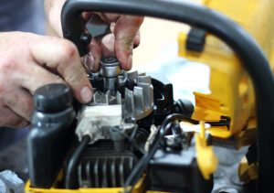 Reparación de motores de gas pequeños